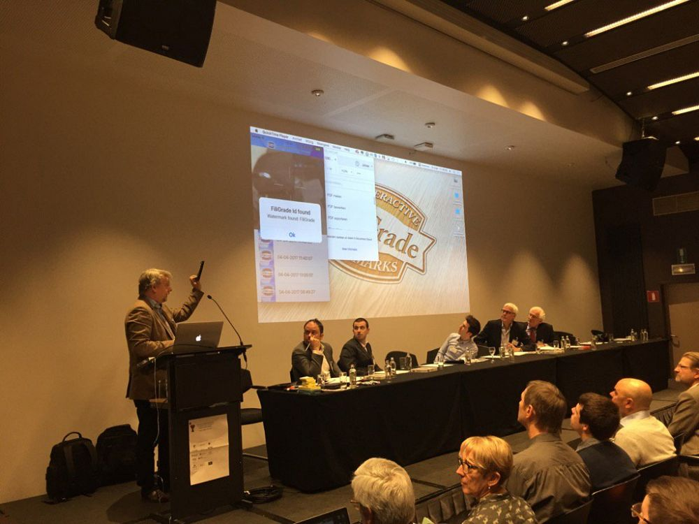 Brussels presentation for the industry